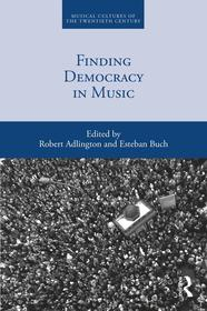Couverture de l'ouvrage Finding Democracy in Music